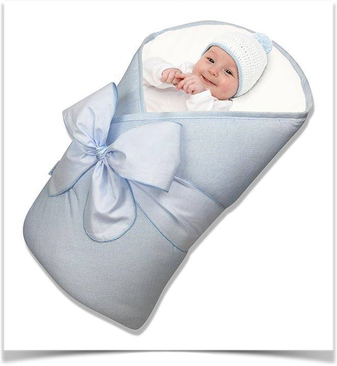 Размер одеяла на выписку для новорожденного