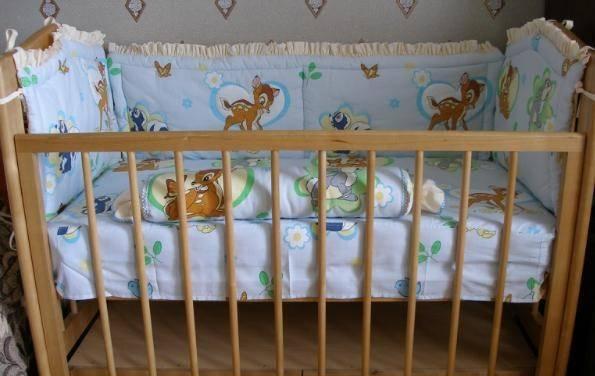 Размеры и порядок шитья детского постельного белья в кроватку