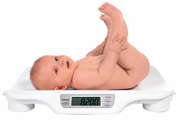 Как определить дефицит массы тела у ребенка при грудном вскармливании
