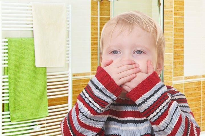 Рвота с кровью у ребенка: причины, с прожилками крови, что делать
