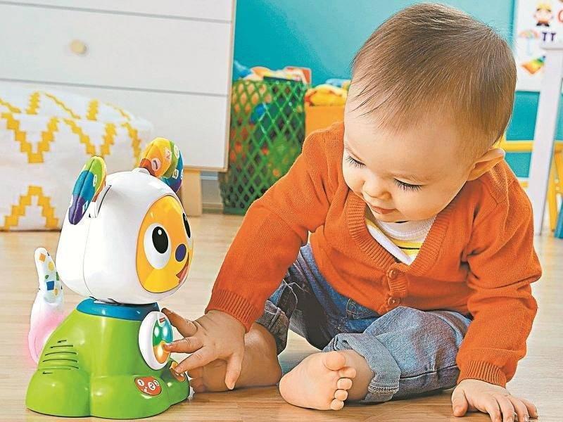 Игрушки для ребенка 1-1,5 лет