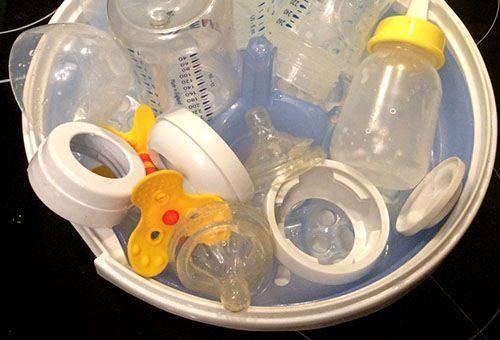 Обработка бутылочек и сосок в домашних условиях