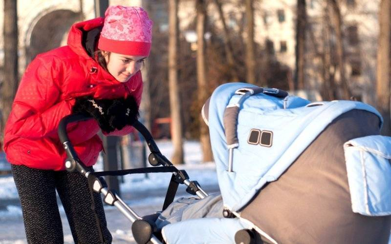 Когда выходить гулять с новорожденным?