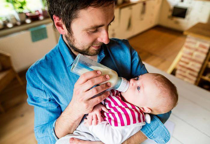 Новорожденный икает после кормления, что делать?