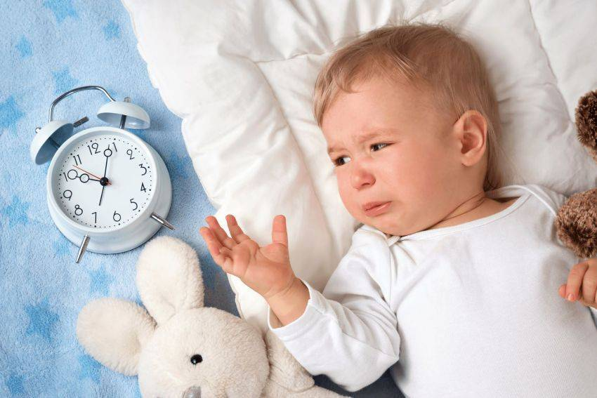 Проблемный сон в ночное время у малышей восьми месяцев