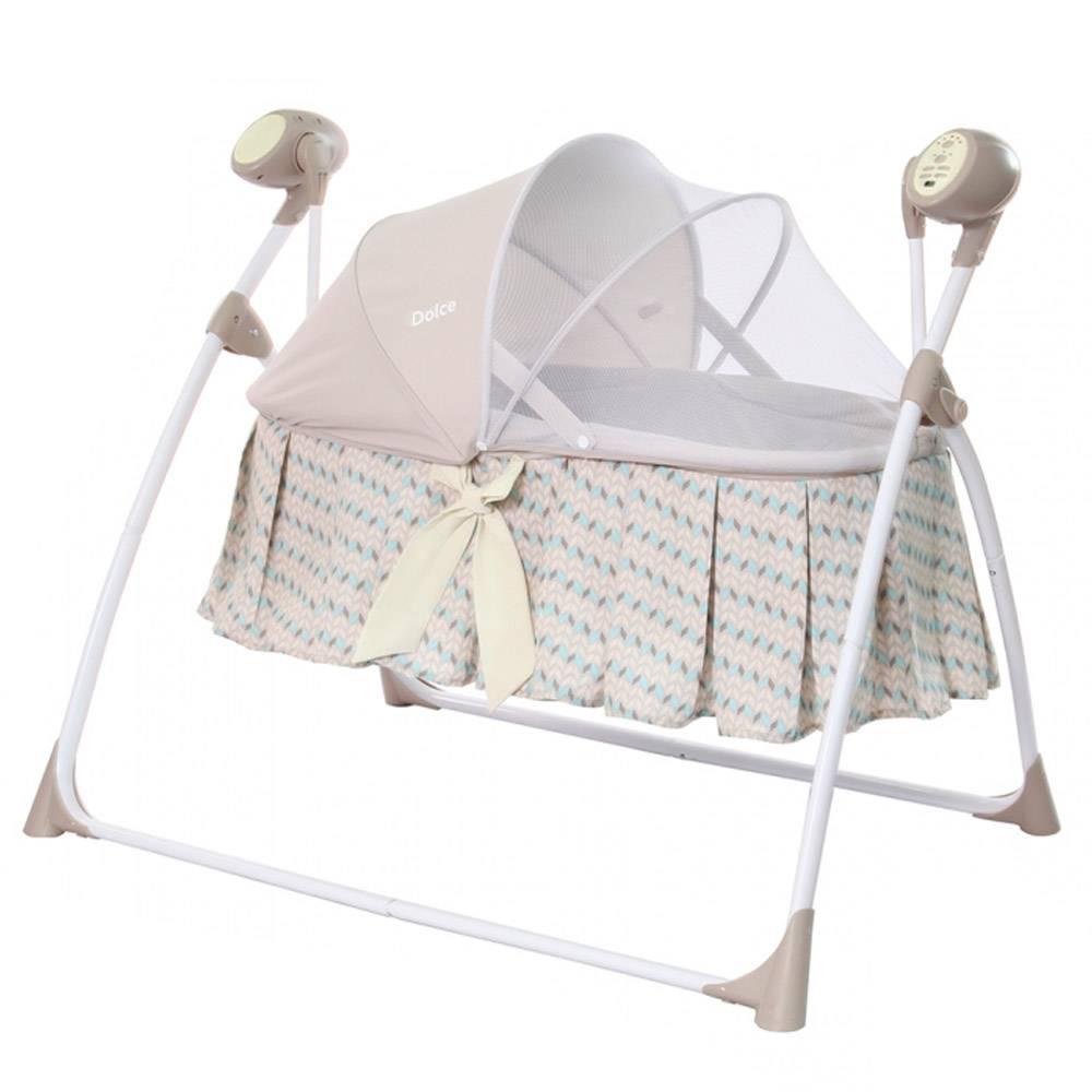Обзор лучших моделей электронных люлек-качалок для новорожденных детей: выбираем колыбель правильно