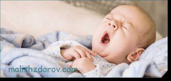 Малыши на гв спят плохо?