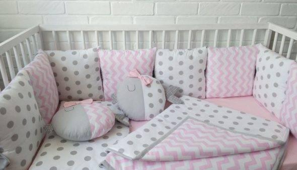 Бортики :) - бортики в кроватку своими руками - запись пользователя annisia (id1622773) в сообществе благополучная беременность в категории постельные принадлежности - babyblog.ru