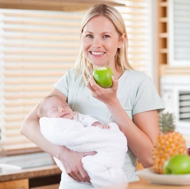 Диета при грудном вскармливании новорожденного