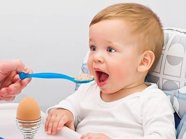 С какого возраста можно давать ребенку белок яйца?