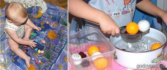 Для всестороннего развития малыша: примеры полезных игр с ребенком 7 месяцев