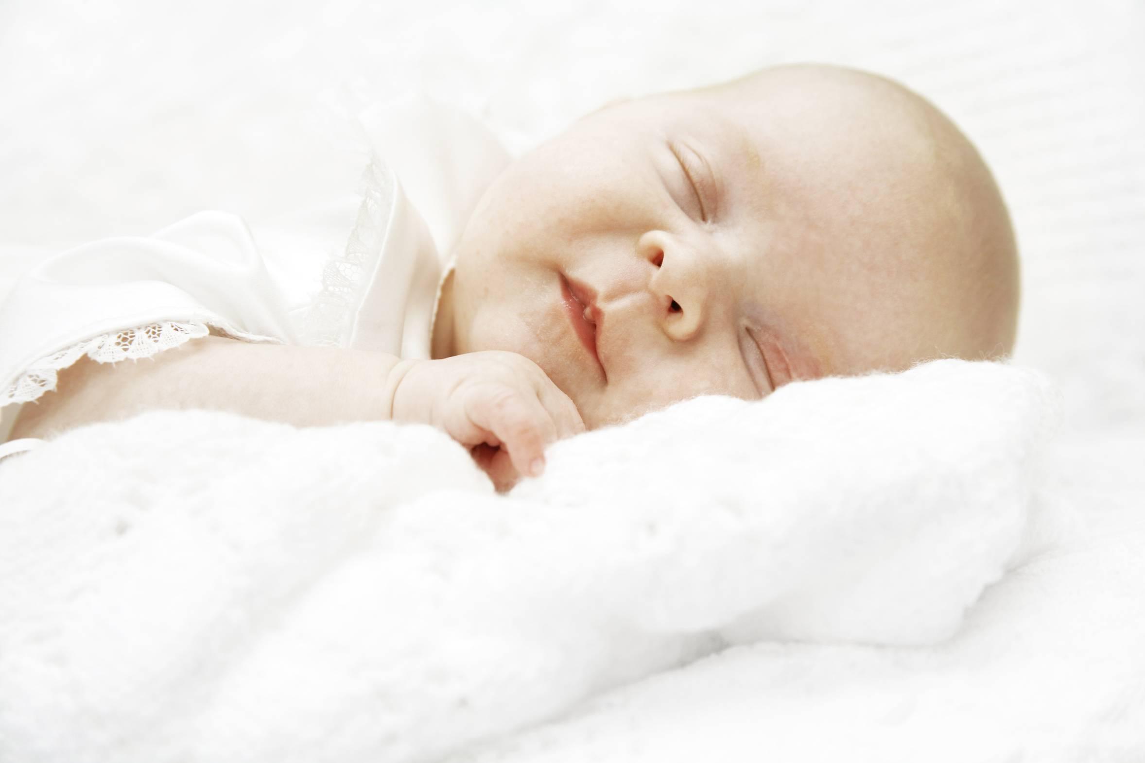 Малыш перепутал день с ночью...