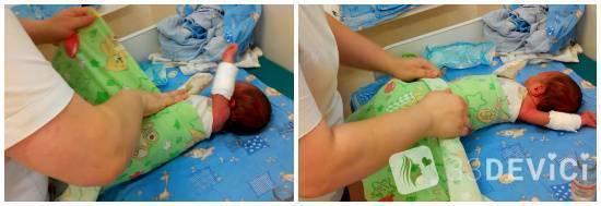 Как правильно пеленать новорожденного – на бэби.ру!