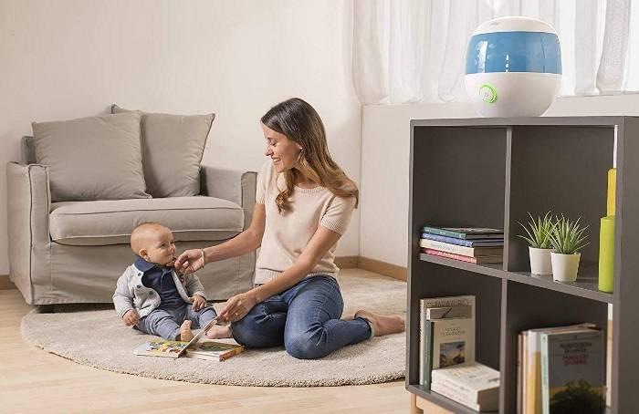 Увлажнители воздуха для детей: польза, вред, рейтинг, выбор и эксплуатация