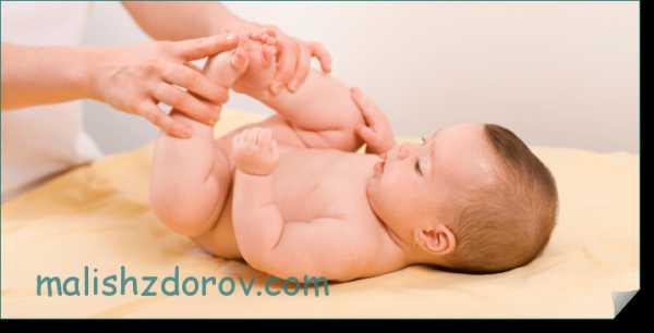 Новорожденный не может сходить по большому - лечение запоров