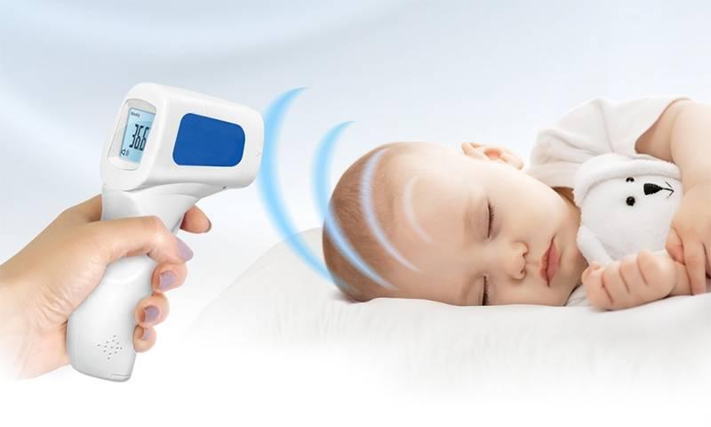Можно ли мерить температуру спящему ребенку: особенности измерений
