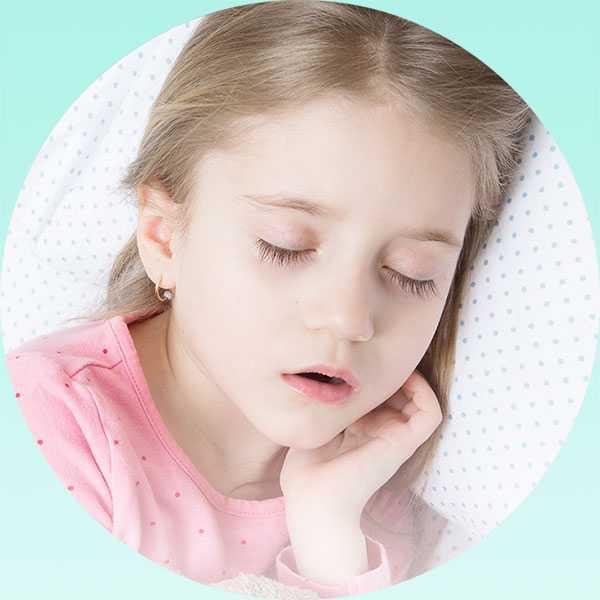 Ребенок сильно храпит во сне что делать