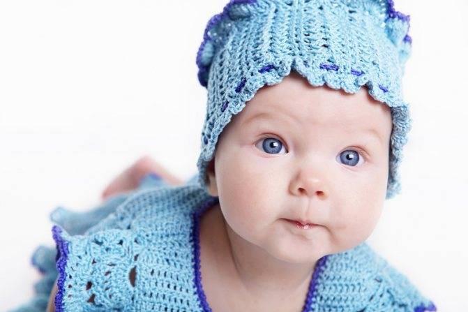 Зрение у новорожденного