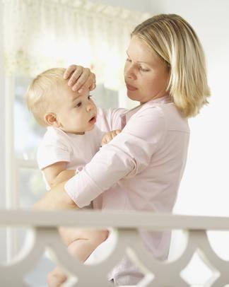 Что делать, если поднимается температура во сне у ребенка?