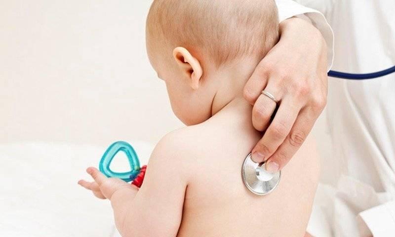 Особенности бронхита у грудничков: причины, симптомы, течение и лечение