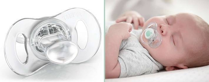 Пустышка для новорожденного — как выбрать