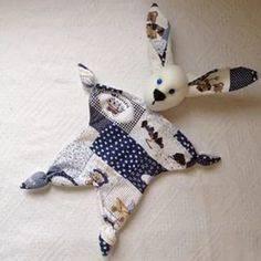 Игрушка мастер-класс день рождения шитьё зайка комфортер ленты ткань