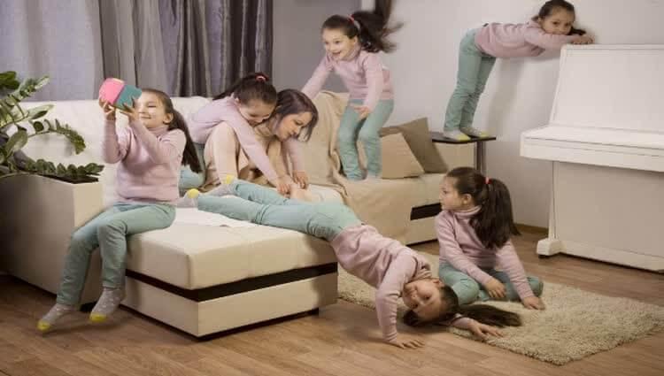 В семье гиперактивный ребенок в 2 года