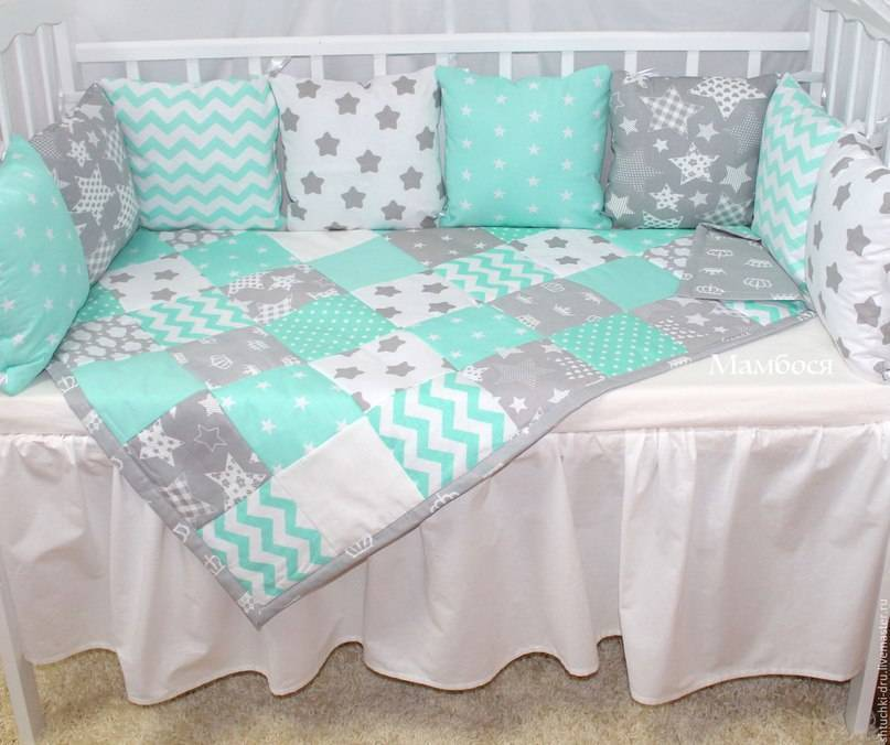 Делаем удобные бортики в кроватку своими руками