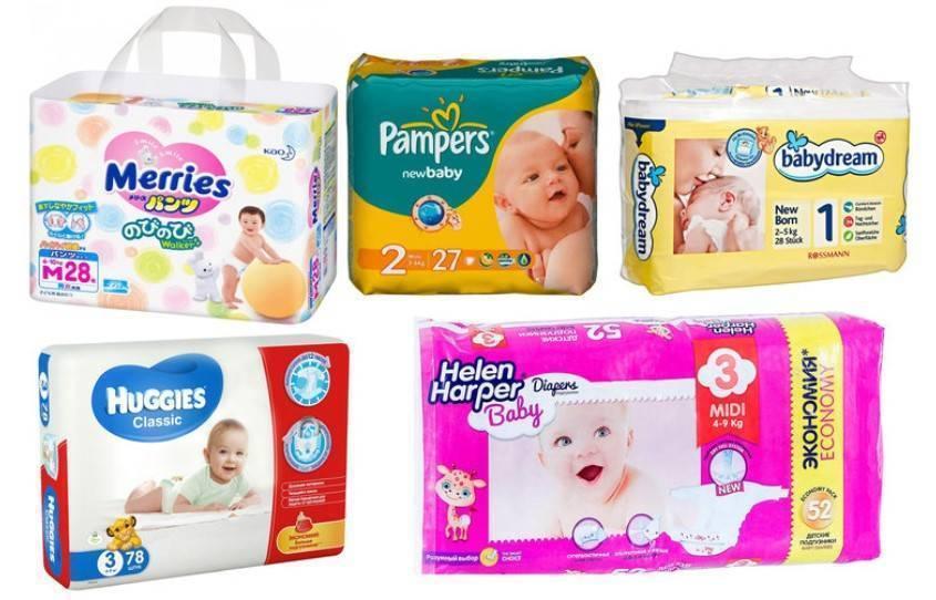 Сколько пачек памперсов для новорожденных (до 5 кг) необходимо на первое время?