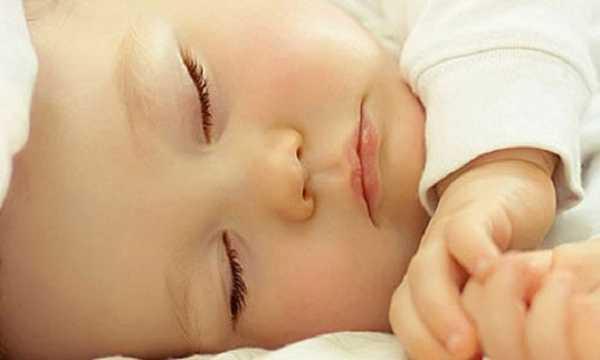 Сон детей в возрасте с одного года до 13 лет
