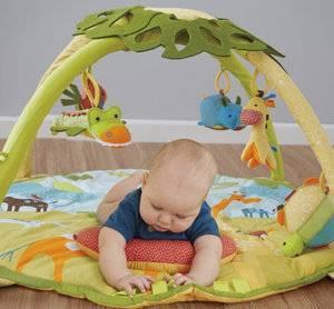 Развивающий коврик своими руками для детей от 0 до 3 лет фото