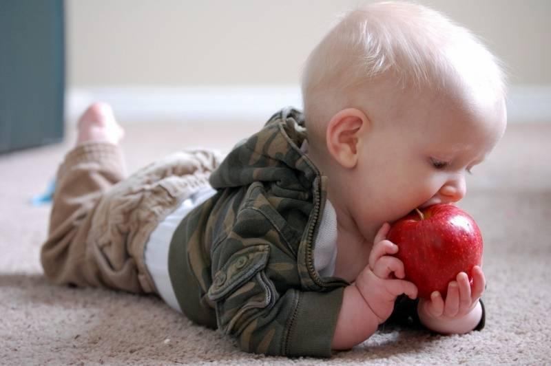 Прикорм детей с 4 месяцев