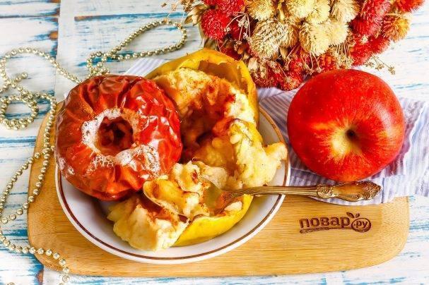 Как запекать яблоки в духовке для грудного ребенка