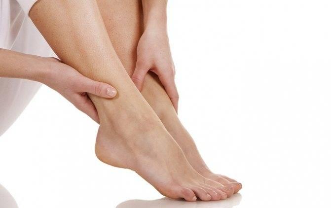 Осложнения на ноги у ребенка после орви