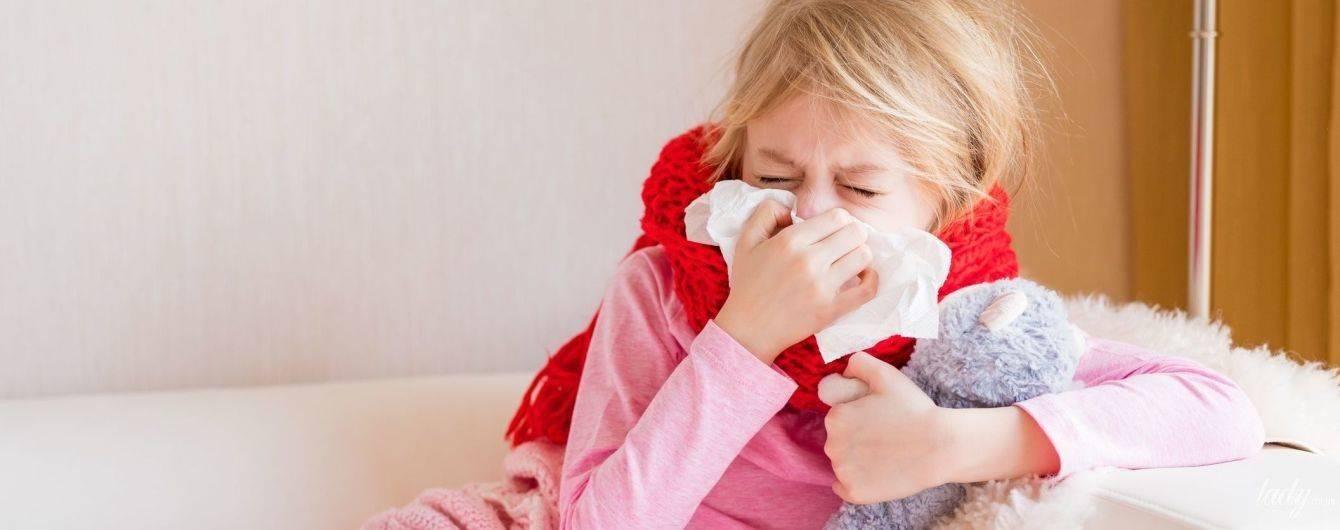 Безопасное лечение насморка месячному ребёнку