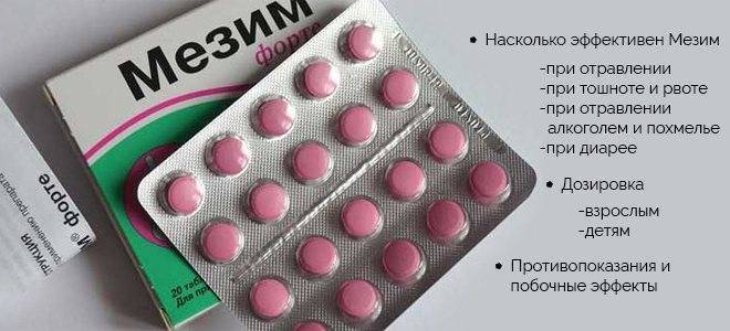 Таблетки и лекарство от тошноты и рвоты для детей