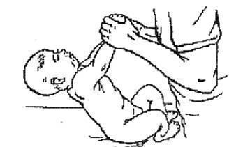 Лечебная физкультура для ребятишек в 6 месяцев