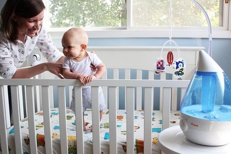 Влажность воздуха в квартире — норма для ребенка до года