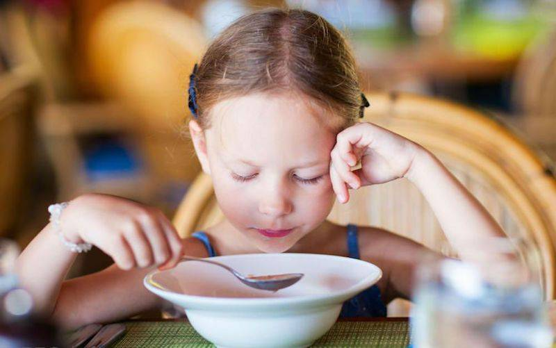 Если ребенок не ест прикорм.