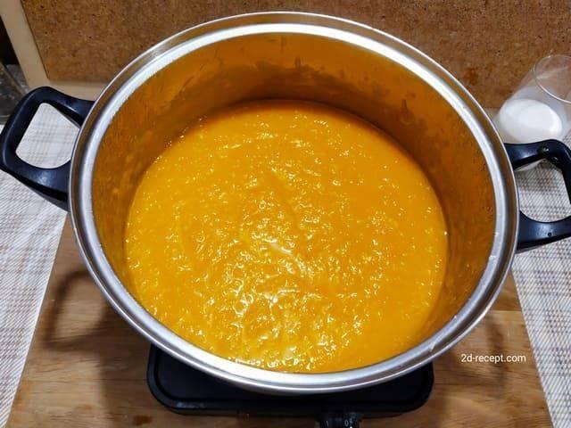 Тыквенный суп-пюре рецепт классический