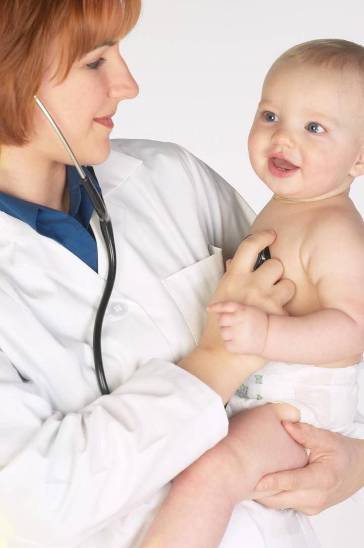 Список врачей, которых ребенок проходит в 6 месяцев