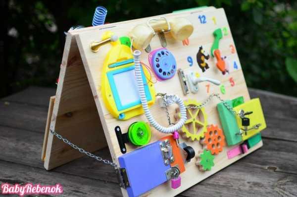 Бизиборд для девочек своими руками: мастер - класс по изготовлению развивающей доски для детей, идеи для бизиборда