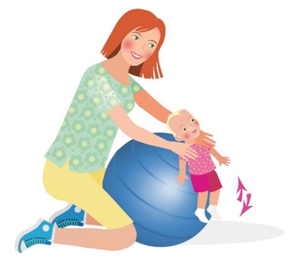 Гимнастика для новорожденных с первых дней