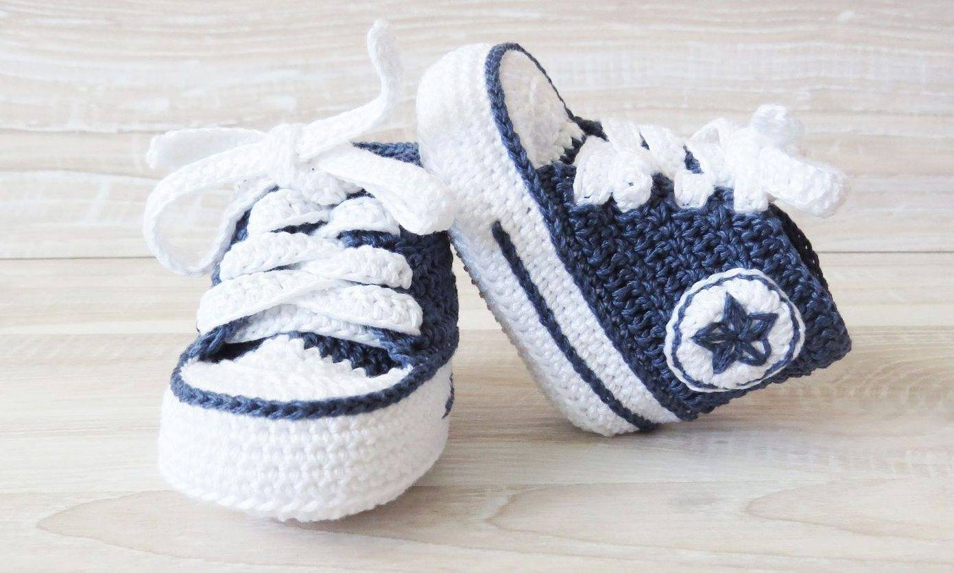 Как правильно связать пинетки спицами для новорожденных: схемы и описание
