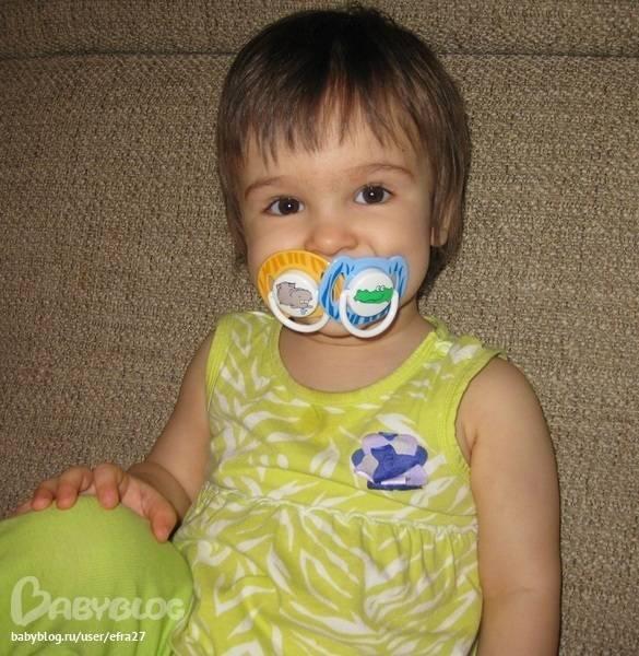 Отучение от пустышки двухлетних детей