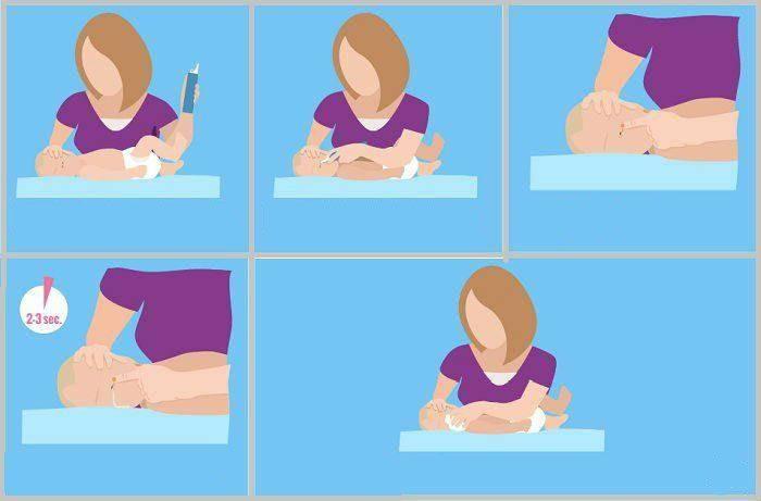 Как промыть нос ребенку физраствором и соленой водой