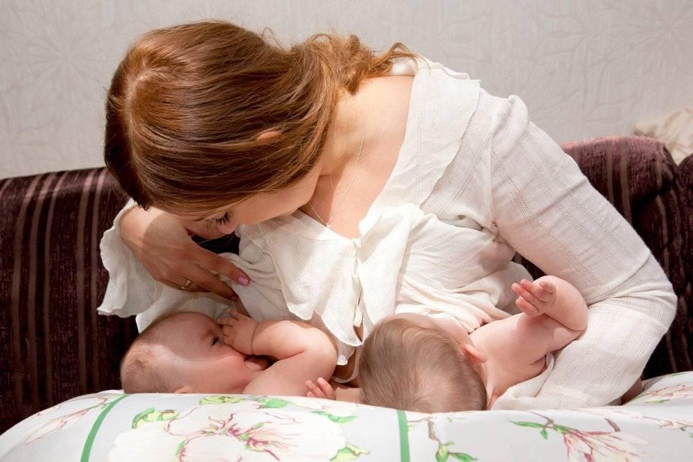 Реально ли гв при двойне? - запись пользователя ксения (id816615) в сообществе многоплодная беременность в категории кормление и уход за малышами - babyblog.ru