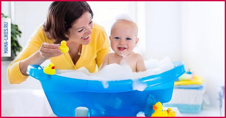 До какого возраста купать ребенка каждый день и зачем?
