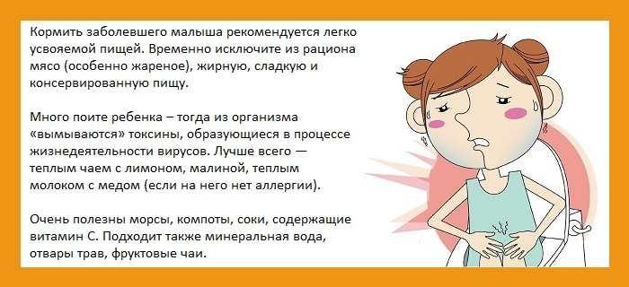 О чем может свидетельствовать диарея и температура у ребенка и что при этом делать