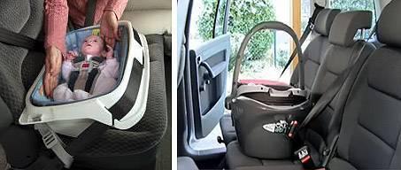 Как перевозить новорожденного в автолюльке, если там есть угол наклона?